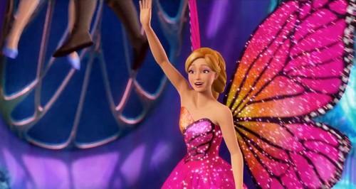 Barbie: Mariposa and the Fairy Princess Trailer Screencaps