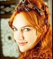 Beautiful Meryem Uzerli as Hurrem