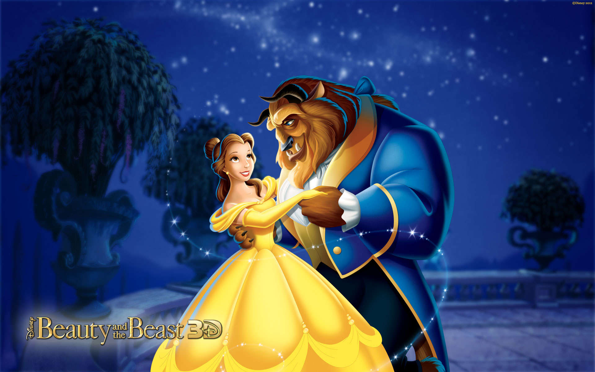 Disney princess beauty and the beast 3d
