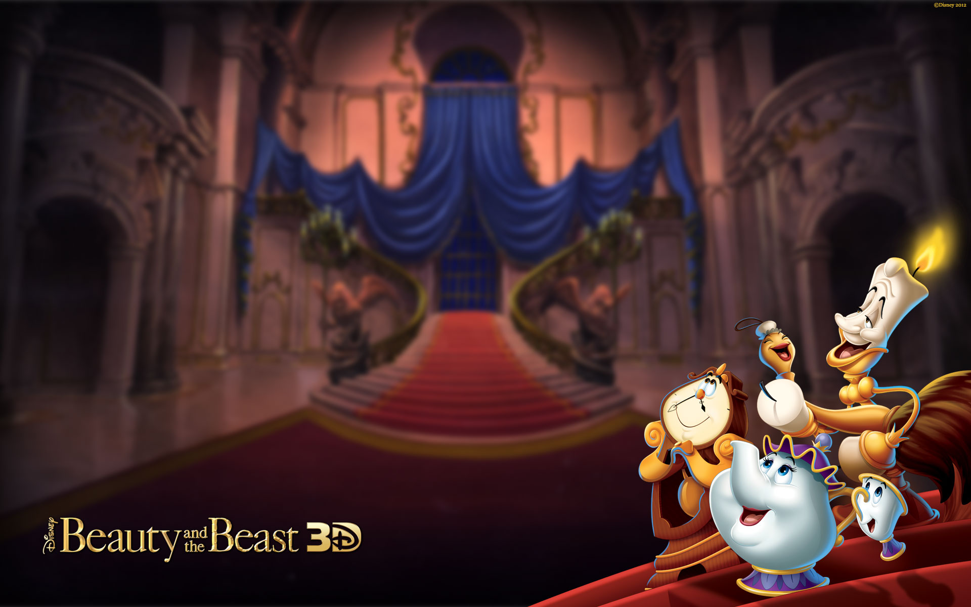 Disney Princess Images Beauty And The Beast 3D HD
