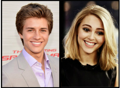 Billy Unger and AnnaSophia Robb