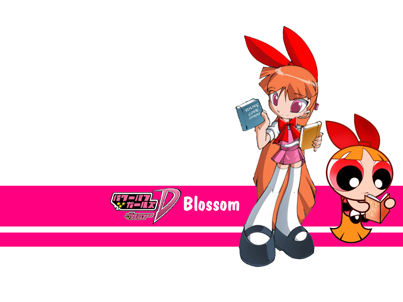 Blossom Powerpuff Girls Wallpaper 34638874 Fanpop