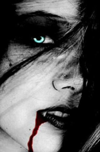 Blue Eyed Vampiress