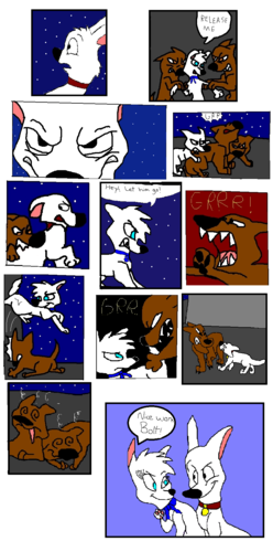 Bolt and Violet Comic (For Boltbiggestfan1)