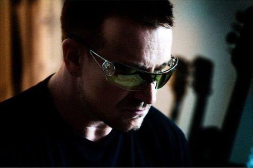 U2 wallpaper containing sunglasses titled Bono