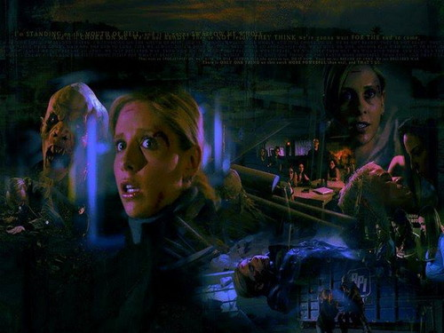 buffy, a caça-vampiros wallpaper probably with a show, concerto titled Buffy The Vampire Slayer