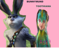 Bunnymund x Toothiana - the-pinkmares-club photo