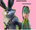 Bunnymund x Toothiana
