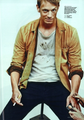 Joel Kinnaman wallpaper called CAFE - AUGUST 2012