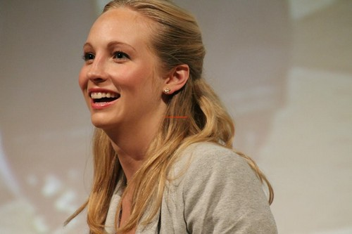 Candice at Love&Blood ItaCon (May 2013)