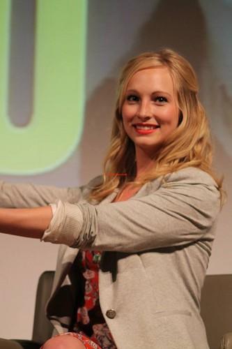 Candice at Love&Blood ItaCon (May 2013)