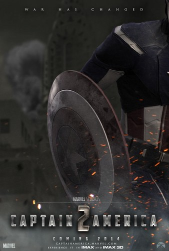 Captain America: The Winter Soldier - Movie Poster