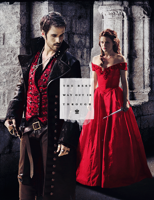 Captain Hook and Belle images Captain Beauty wallpaper and ... Emilie De Ravin Once Upon A Time Tumblr