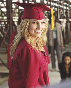 Caroline Forbes - graduation ceremony