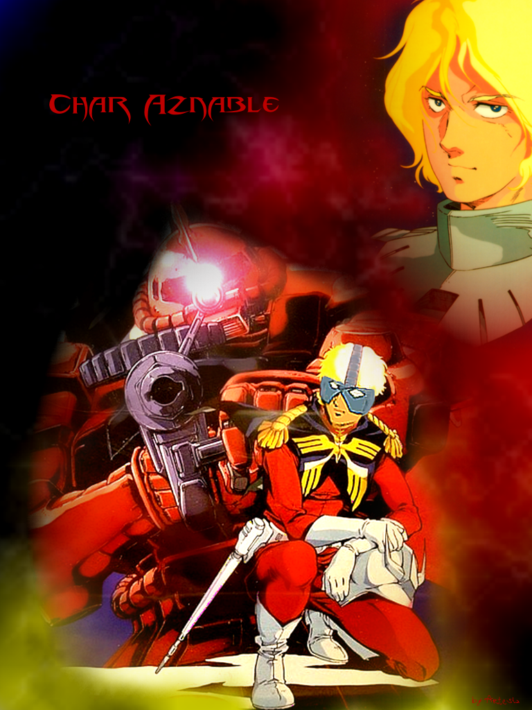 Char Aznable - The Red Comet