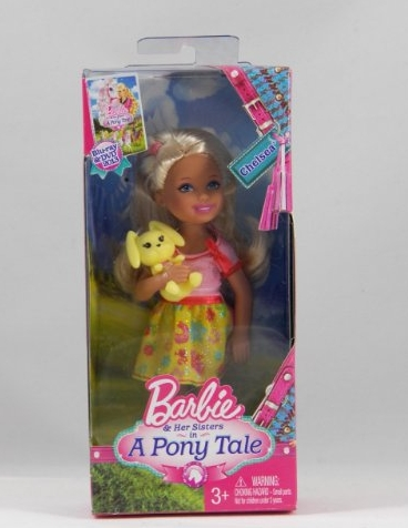 Chelsea doll with baby bunny