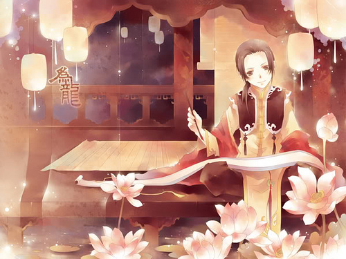 Hetalia wallpaper with a drawing room entitled China