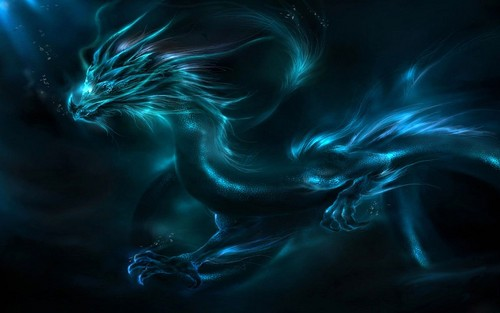 Dragons wallpaper titled Chinese lung