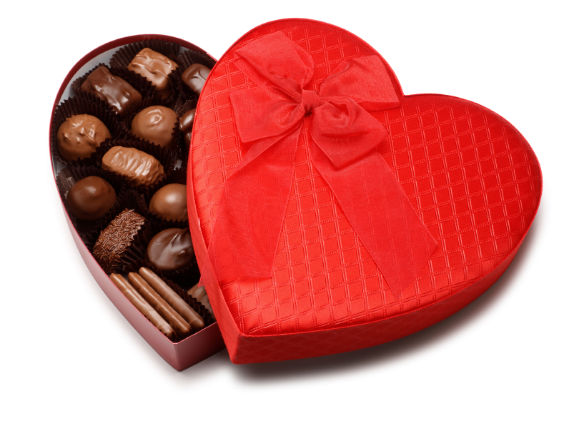 Chocolates in heart box - Chocolate Photo (34691381) - Fanpop