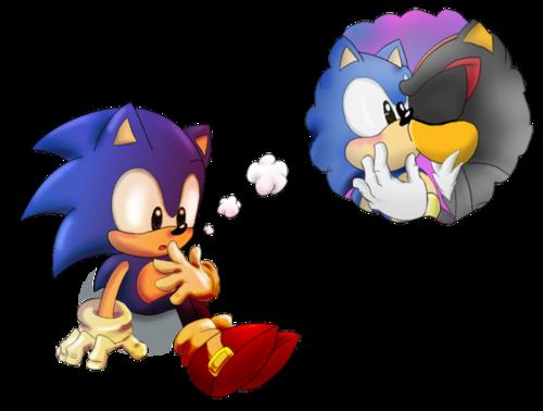 Classic Sonic & Shadow c: