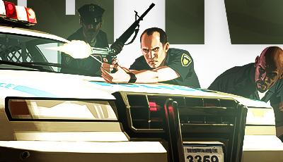 Cop Over Car