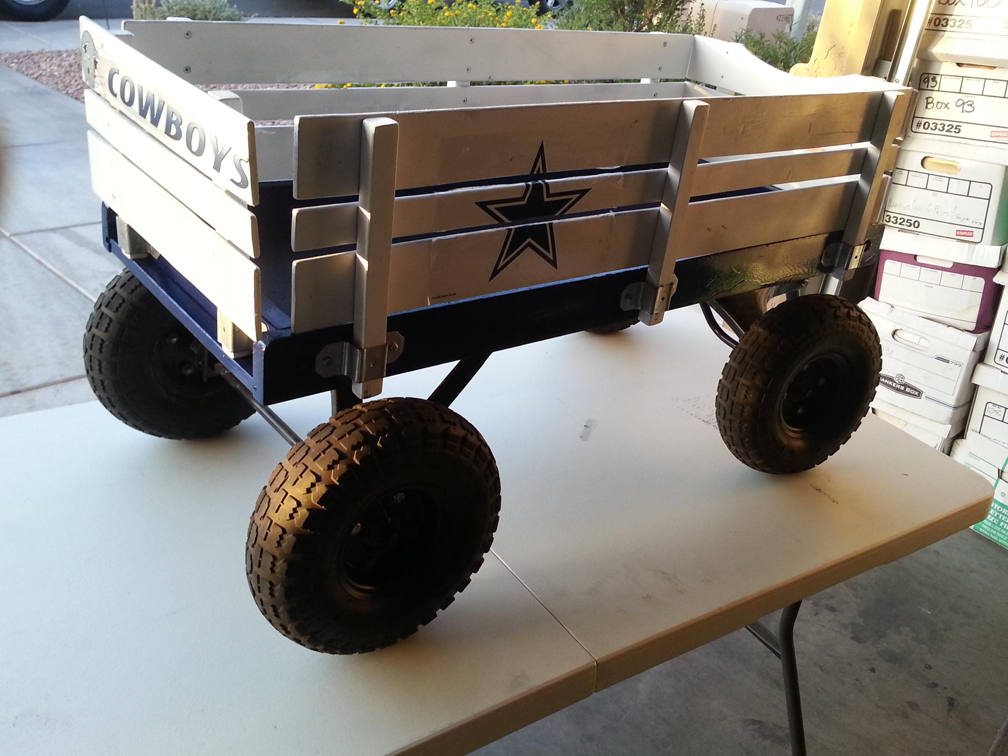 Cowboys wagon