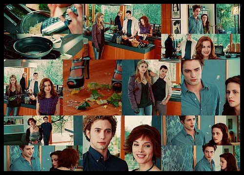 Romantic Male Characters wallpaper entitled Cullens couples