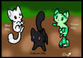 Cute Minecraft Mob Kitties! - minecraft fan art