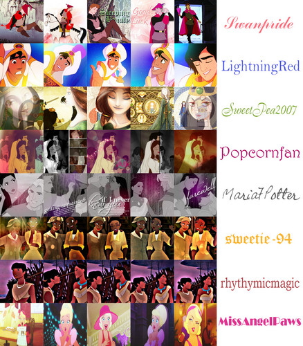 DP Characters 20 in 20 شبیہ Contest Round 1 Artist Choice Sets