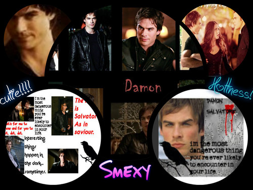 Damon Salvatore *collage*
