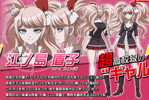 Dangan Ronpa wolpeyper containing anime called Dangan Ronpa Anime