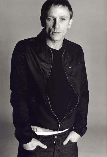 Daniel Craig With Hidden Tattoo