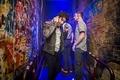Darren Criss backstage at House of Blues  - darren-criss photo
