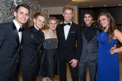 Darren attends Tonys Awards 2013
