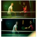 David Anders and Nina Dobrev playing Ping Pong. - nina-dobrev photo