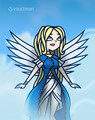 Dawn as Belldandy - total-drama-island fan art