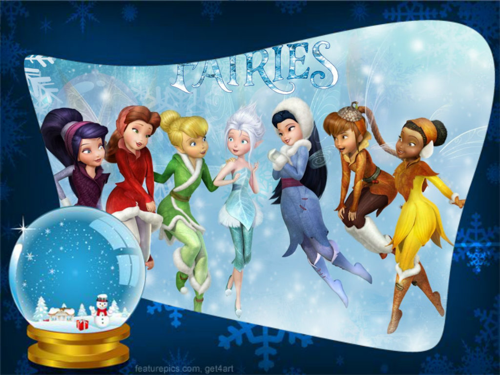 Tinkerbell and friends wallpapers
