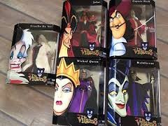 disney fondo de pantalla probably with anime called disney Villains muñecas