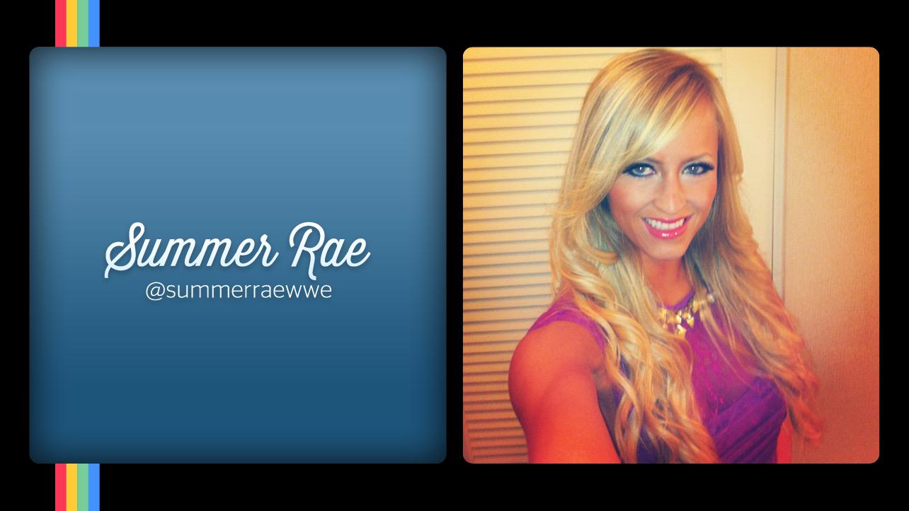 WWE Summer Rae Instagram