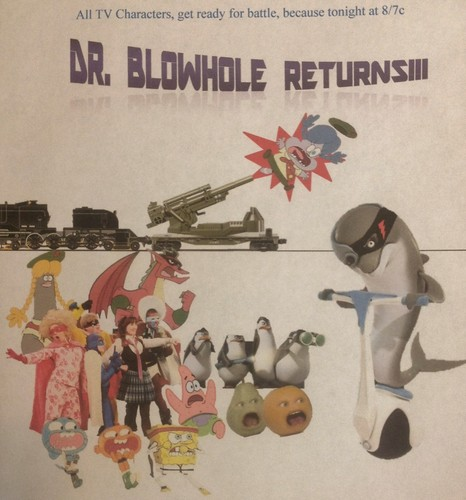 Dr Blowhole's Return Poster #3