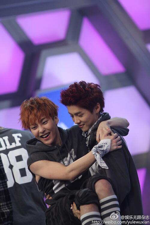 EXO at 'Happy Camp' - EXO-M Photo (34642870) - Fanpop