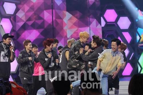 EXO at 'Happy Camp'