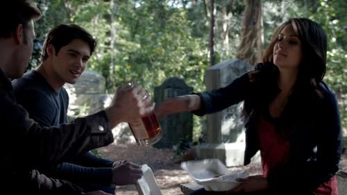 Elena, Alaric & Jeremy