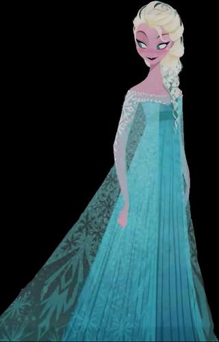 Elsa The Snow Queen - frozen Photo