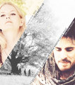 Emma & Hook  - once-upon-a-time fan art