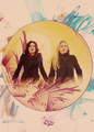 Emma & Regina  - once-upon-a-time fan art