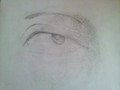Eye - drawing photo