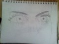 Eyes - drawing photo