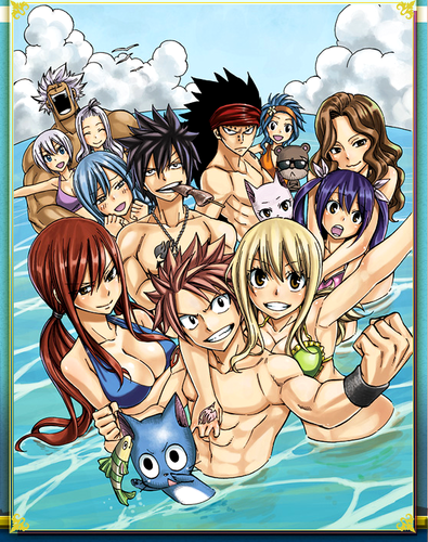 Fairy Tail OVA 4: mga engkanto Training Camp