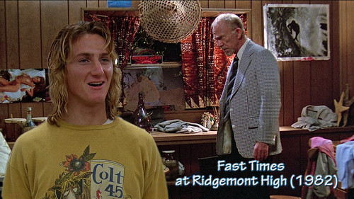 Fast Times at Ridgemont High 1982.